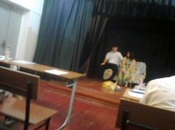 Посещение постановок студентов 4 курса заочного отделения СКГИИ