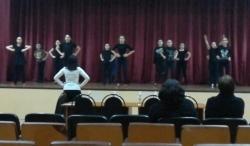 мастер-класс по современному танцу