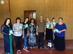 Группа руководителей театральных коллективов и драматических кружков ДК