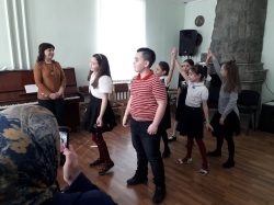 Посещение центра им.Ж.Казаноко с группой художественных руководителей СДК